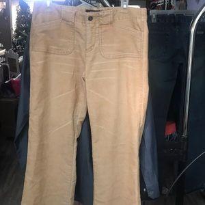 Express Stretch light creamsicle corduroy pants